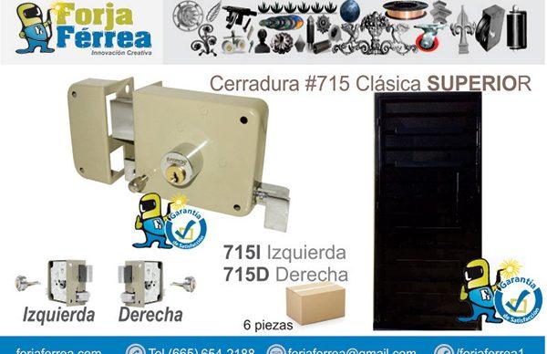 Cerradura #715 Clásica SUPERIOR
